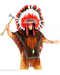 Indio Nativo (Poncho) (One Size Fits Most Adult) (00075)
