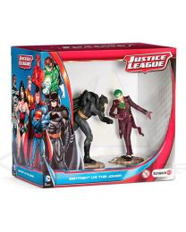 Figuras Batman vs The Joker Liga de la Justicia DC Comics (4005086225107)