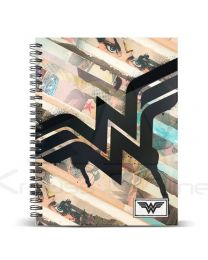 Cuaderno A4 Wonder Woman Dc Comics Collage (8435376378651)