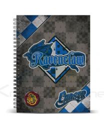 Cuaderno A4 Harry Potter Quidditch Ravenclaw (8435376382054)