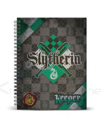 Cuaderno A4 Harry Potter Quidditch Slytherin (8435376382245)