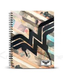 Cuaderno A5 Wonder Woman Dc Comics Collage (8435376375827)