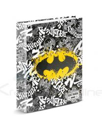 Carpeta A4 Batman Dc Comics Tagsignal Anillas (8435376376015)