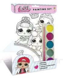Set Pintura Acuarelas De Lol Surprise  (9781788240734)