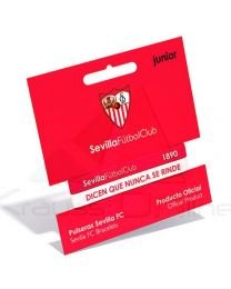 Pulsera embossed Sevilla FC rojo blanco junior (8699982422065)