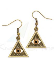 Pendientes Triangle Eye Animales Fantasticos (5055583409172)