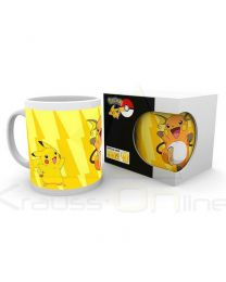 Taza Pikachu Evolve Pokemon (5028486294961)