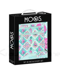 Set Regalo Moos Flamingo Turquoise (8412688335954)