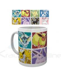 Taza Pokemon Eevee Evolution (5028486371495)