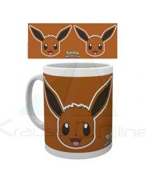 Taza Pokemon Eevee Face (5028486352890)