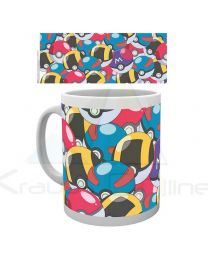 Taza Pokemon Pokeballs (5028486295623)