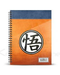 Cuaderno A4 Dragon Ball Symbol (8435376399342)