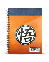 Cuaderno A5 Dragon Ball Symbol (8435376399359)