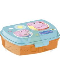 Sandwichera rectangular de Peppa Pig 'Core'  (13914)