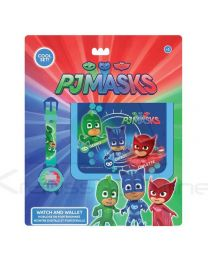 Set reloj digital y billetera de Pj Masks
