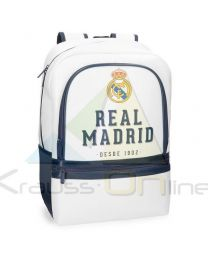 Mochila adaptable portaordenador 44cm de Real Madrid 'Gol' (538-2362)