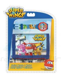 Set Reloj Digital + Billetera De Super Wings  (8435333878033)