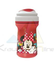 Vaso toddler premium con tapa 310ml de Minnie Mouse 'Color Bows'  (45397)