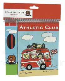 Set de 6 lapices con bloc de Athletic Club Bilbao  (CP-GS-301-AC)