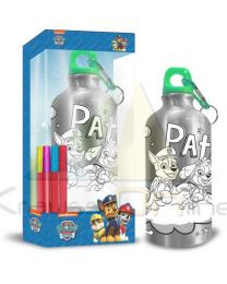 Botella cantimplora 500ml coloreable de Paw Patrol La Patrulla Canina  (PW16449)