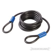 Cable de seguridad de acero (2.5 m x 8 mm)