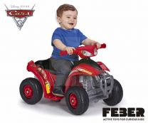 Quad Disney Cars 3 6V Ce (800011149)