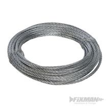 Cable galvanizado (6 mm x 10 m)