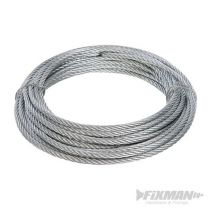 Cable galvanizado (4 mm x 10 m)