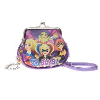 Dc Superhero Girls Bolso Retro Cadena (33659)