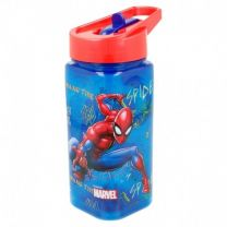 Botella Square 530 Ml |  Spiderman Graffiti - Stor 37914