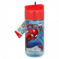 Botella Tritan Hidro  430 Ml |  Spiderman Graffiti - Stor 37936