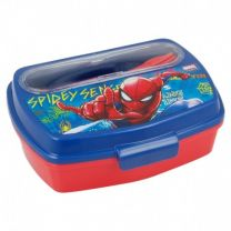 Sandwichera Funny Con Cubiertos spiderman Graffiti - Stor 37909 (disc)