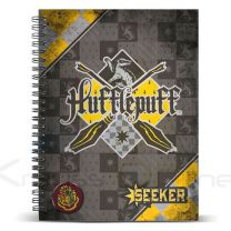 Cuaderno A4 Harry Potter Quidditch Hufflepuff (8435376381910)