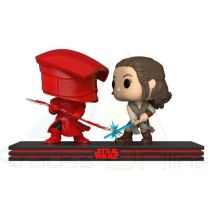 Set 2 figuras POP Star Wars The Last Jedi Rey & Praetorian Guard (889698325578)