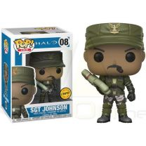 Figura POP Halo Sgt. Johnson Chase (889698301015 Chase)