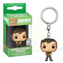 Llavero Pocket Pop Fortnite Highrise Assault Trooper (889698369503)