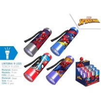Linterna 9 Leds De Spiderman  (8435507836647)