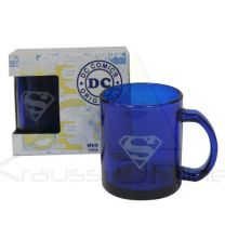 Taza Transparente Superman Dc Comics (8436546892120)