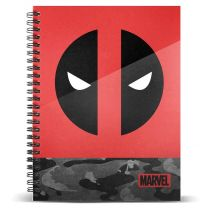 Cuaderno A4 Deadpool Marvel (8445118007411)