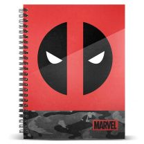 Cuaderno A5 Deadpool Marvel (8445118007428)