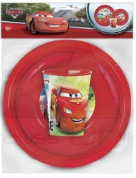Set vaso, plato y cuenco de Cars 'Racers Edge'  (ST-22710)