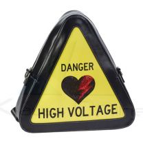 Bolso mediano warning de Oh My Pop! 'High Voltage'  (KM-60427)