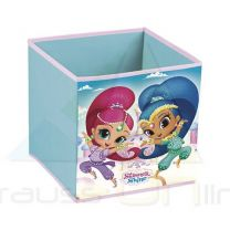 Cubo Contenedor 31X31X31Cm De Shimmer And Shine  (8430957121190)