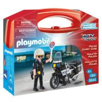 Maletin Policia Playmobil City Action (4008789056481)