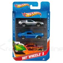Blister 3 coches Hot Wheels surtido (027084425611)