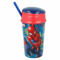 Vaso Snack 400 Ml |  Spiderman Graffiti (37901)