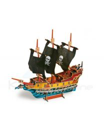 Puzzle 3D Barco pirata (Small Foot-cod.1404)