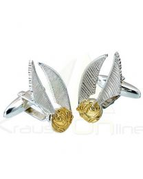 Gemelos Golden Snitch Harry Potter plata (5055583414893)