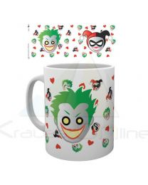 Taza Emoji Harley And Joker Dc (5028486362837)