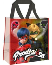 Shopping bag 38x38x12cm 2 diseños surtida de Lady Bug  (LB17024)